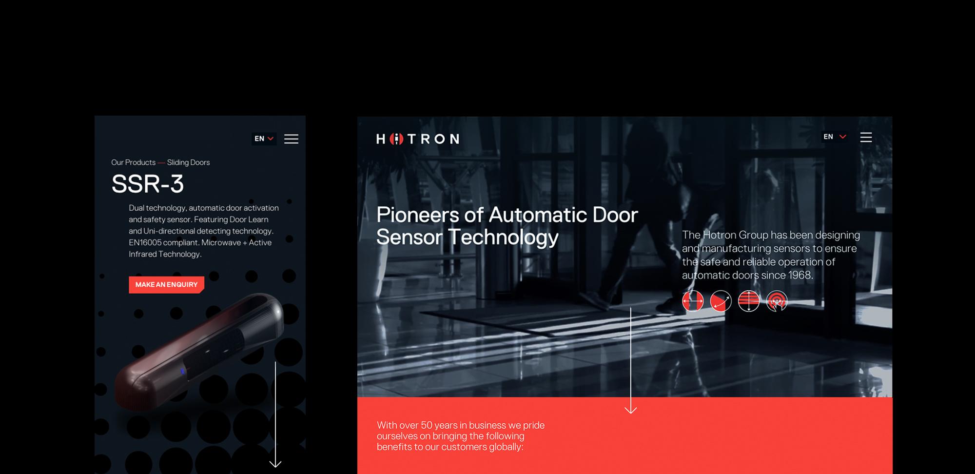 Hotron Website